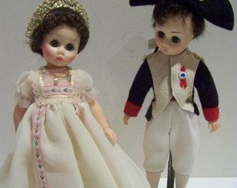 Josephone and Bonaparte Madame Alexander 14 in dolls