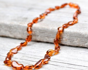 Baltic amber necklace for women