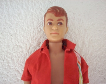 1964-66 ALLAN DOLL MATTEL Bend Leg Barbie Ken Midge Boyfriend Francie Fashion