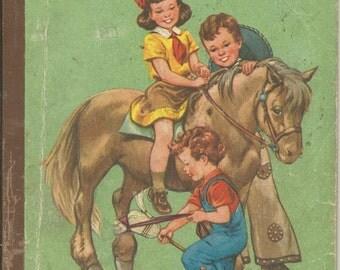 Vintage 1955 Ride With Us Children's School Book