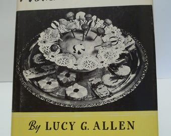Vintage 1941 A Book of Hors d'Oeuvre by Lucy G. Allen