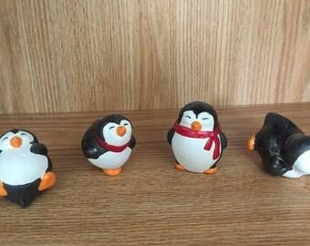 Penguins  Ceramic Handmade