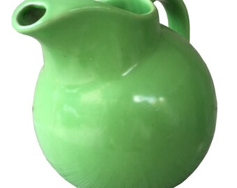 Vintage TEPCO Green Beverage Pitcher