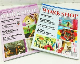 Somerset Workshop - Summer 2008 Autumn 2008 - Stampington Out of Print Back Issues - Destash