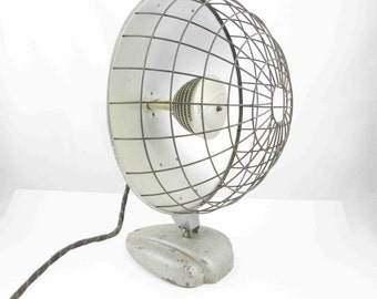 Vintage, Non-working Space Heater - 'Ocalipse' by Bersted, Canada - Large Wire Caged Heater - Shelf Stuff - Industrial Chic - Steampunk