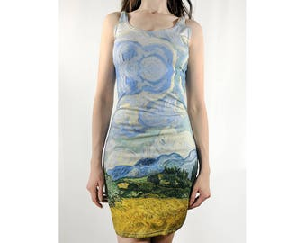 Wheatfield Fitted or Flared Dress