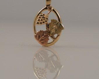 South Dakota Gold Company Co Black Hills Pendant Simple Necklace No Stone