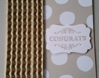 "Handmade ""Congrats"" Card"