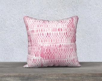 Pink Accent Pillow, Pink Pillowcase, Pink Throw Pillow, Pale Pink Pillow, Velveteen Pillow, Pink Room Decor, Pink Decor, Pink Lumbar Pillow