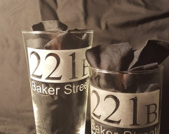 221B Sherlock Glass