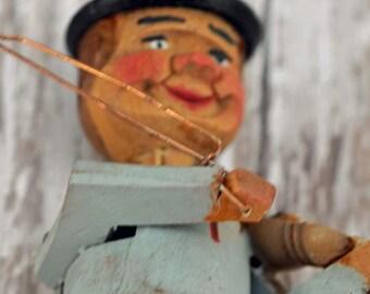 Antique Anri  Italian Mechanical Bottle Stopper  (CSA)