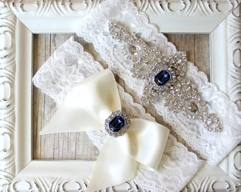BEST SELLER Wedding Garter, Bridal Garter, Wedding Garter Set, Lace Bridal Garter Set, Ivory Bridal Garter Belt, wedding dress, custom