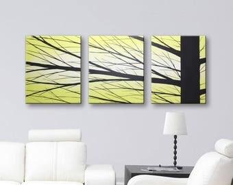 "Minimalist Painting, Canvas Art, painting, paintings, Original Painting, Home Decor, Wall Art, Wall Decor Canvas Art 48""x20"""