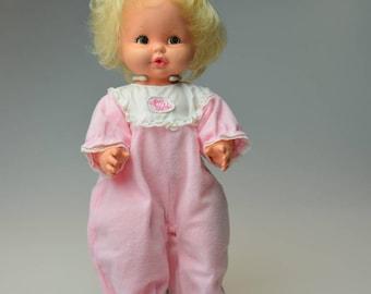Vintage Talking Baby Tender Love Doll 1969 Mattel Baby Doll Collectible Vinyl Vintage Toy