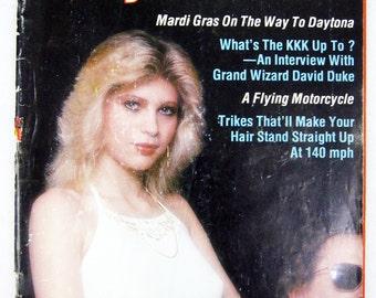 Vintage Easyriders Magazine w/ David Mann Poster July 1980 #85 (mature)