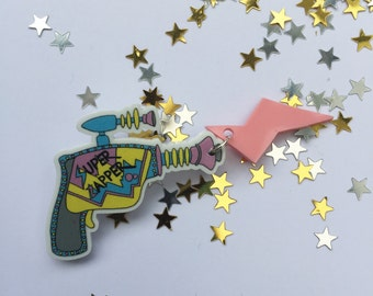 Super Zapper Raygun Brooch
