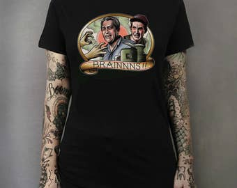 Return of the Living Dead Zombie Tattoo Art T-shirt