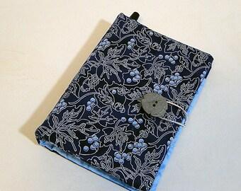 Notebook, Blue, Paper/Pen Wallet, Coupon Organizer, List Maker, Paper, Pen, Wallet