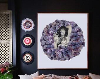 Rick James Purple Smoking Flowers