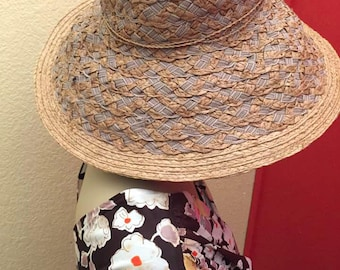 Large Natural Sunhat Woven Floppy Hat