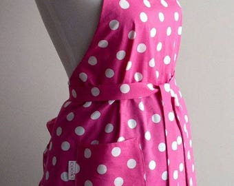 Cute apron|retro apron| full apron| kitchen apron| FREE SHIPPING
