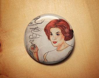 Audrey Horne  //  1.25 inch button