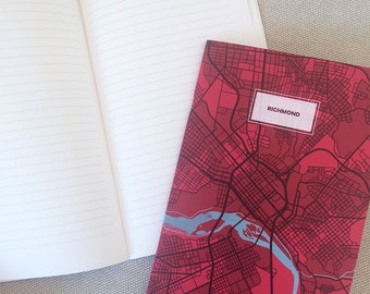 Richmond VA Map Notebook