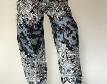 SM0057 Genie Pants Comfy Trouser, Gypsy Pants Rayon Pants,Aladdin Pants Maxi Pants Boho Pants