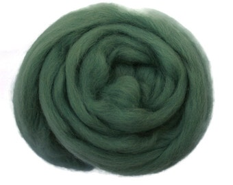 TEAL - Merino Roving Wool 1/4oz, 1/2oz or 1oz