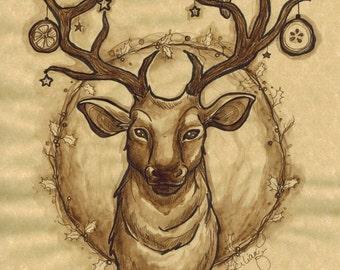 Winter King (Original ink)