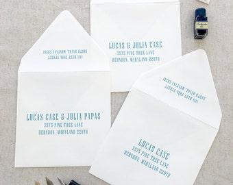 Envelope Guest Addressing | No. N001 | Set of 25