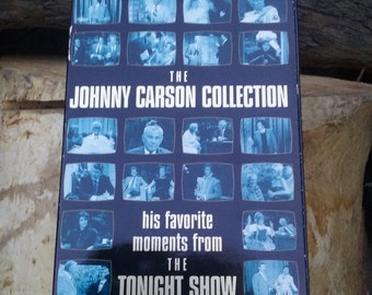 Vintage vcr tapes Johnny Carson Tonight Show 1994 set of 4
