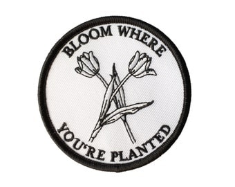 Patch - Bloom where you're planted - Tulips