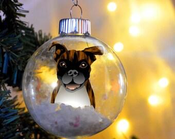 Boxer ornament | Etsy