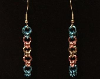 Pride Collection - Transgender Pride Triplet Earrings