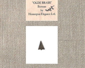 Homespun Elegance Ltd - Olde Brass Button Tree - By the Button