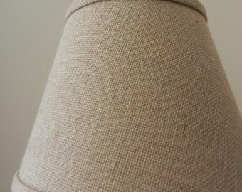 Beautiful UNO Burlap Shade - Like New