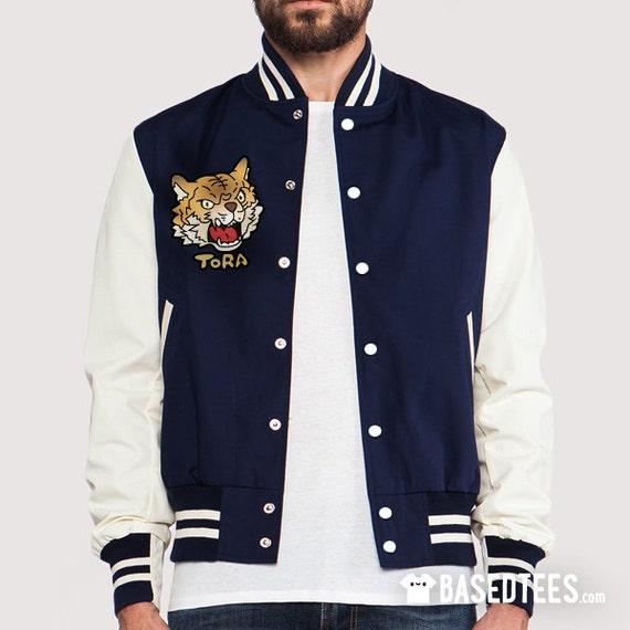 "YURI Varsity Jacket  ""Tora"" Tiger"