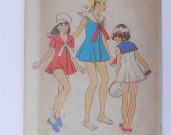 Vintage 1973 Simplicity Pattern 5599 size 8 & 12