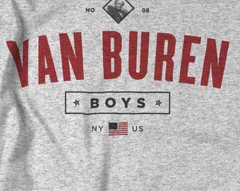 Seinfeld Van Buren Boys T-shirt - Vintage Style Logo Shirt - Small - 5xl - Unisex