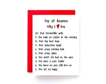 Top 10 Reasons I Love You