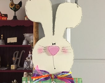 Bunny Spring/Easter Sign