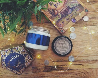 Ravenclaw Candle   Earl Grey Tea   10 oz Soy Candle   Harry Potter candle, tea candle, Hogwarts, bookish candle