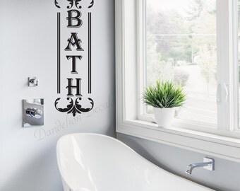 Bathroom Décor – Bathroom Wall Décor – Bath Wall Décor – Wall Decal for Bathroom – Bathroom Decal – Bathroom Wall Decal