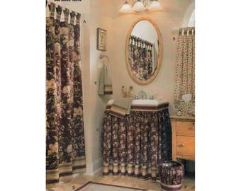 Bathroom Accessories And Decor By Waverly, Shower And Window Curtains, Sink  Skirt, Bathmat