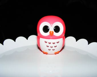 Cute Pink Owl Lip Gloss