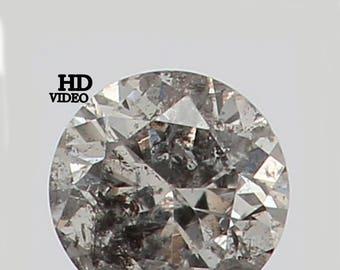 2.40 MM 0.055 Ct Natural Loose Diamond Cut Round Shape Fancy White Color L7498