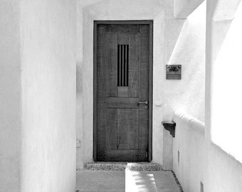 Black And White, Door Photography, Urban Photography, Urban Decor