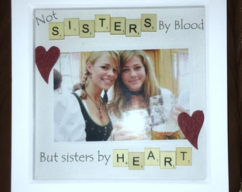 Not Sisters By Blood Etsy