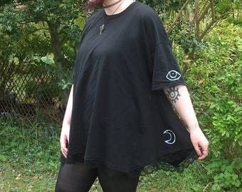 Moon and the Eye Top, Handmade sizes Small to 5XL